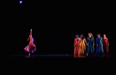 """""""FURY"""" - Choreographed by Kameron Saunders - Photo by Jonathan White (Emily in pink)"""